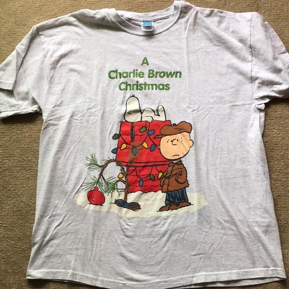 a charlie brown christmas t shirt xl
